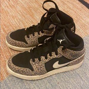Jordan Air with animal print